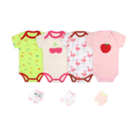Ropa de bebes Baby Romper Wholesale Baby Bodysuit Set Lovely Baby Clothes