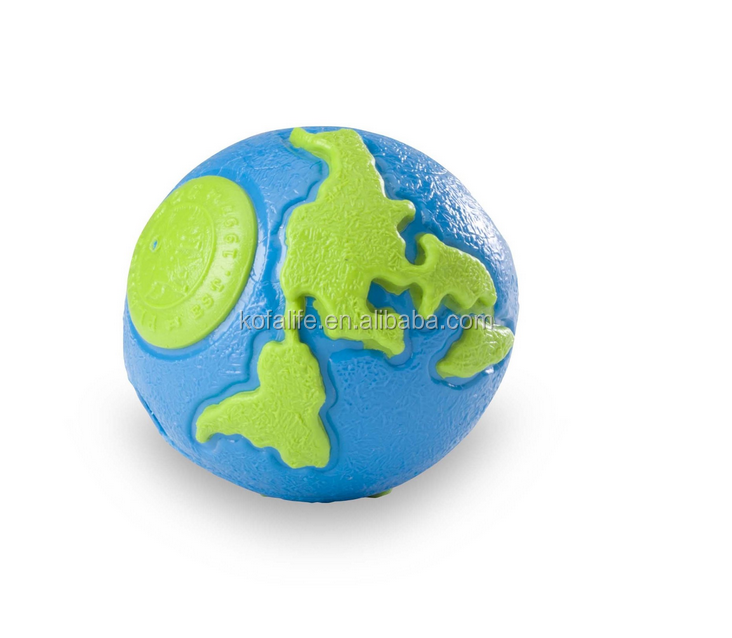 pet toy rubber ball dog cat toy colourful ball
