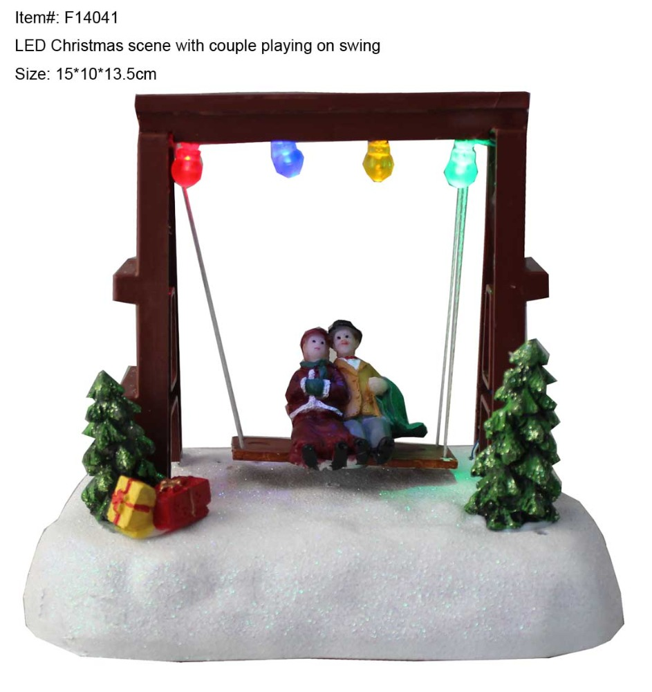 Flying santa fibre optic christmas decoration - China Christmas Village Scene China Christmas Village Scene Manufacturers And Suppliers On Alibaba Com