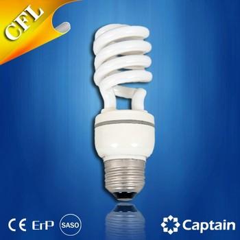 Quality And Low Price 9W Half Spiral Energy Saving Lights Cfl Lamp