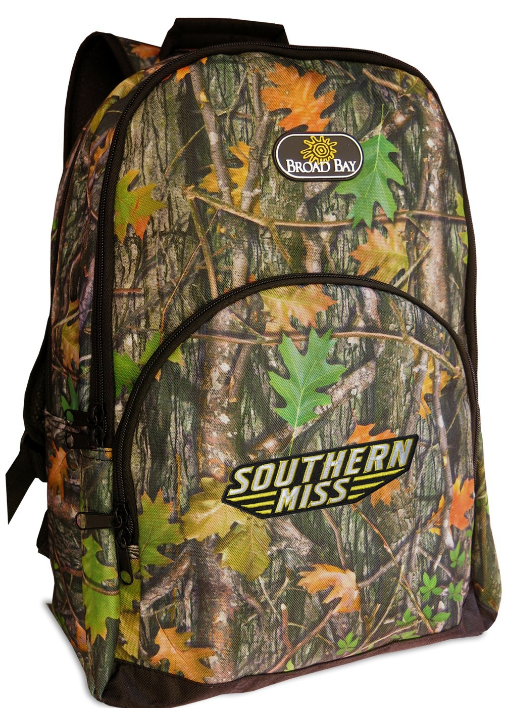 acd6aa0db1 Get Quotations · USM Golden Eagles Camo Backpacks Official Southern Miss  Bags