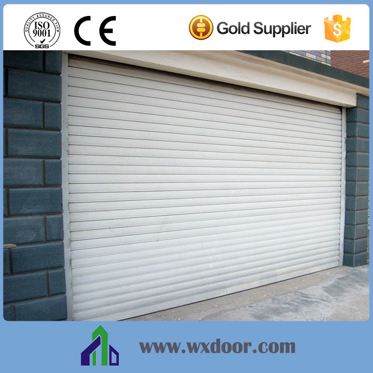 Exterior: Automatic Aluminum Rolling Shutter Patio Doors