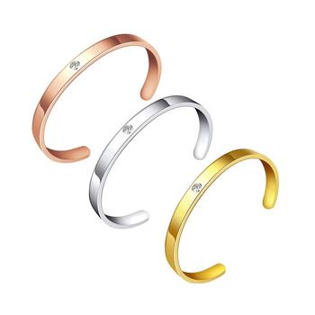 b04b85203fc4 Mujer Accesorios para mujer pulsera de oro brazalete de acero inoxidable  brazaletes
