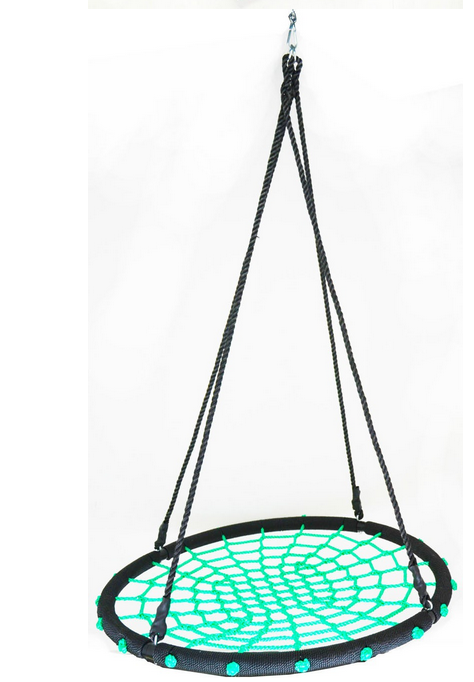 Garden round swing chair buy swing chair round swing for Circle swing chair