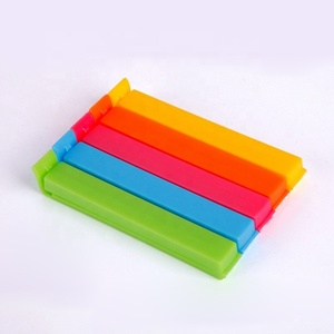 Promo Good quality colorful Plastic Food Chip Bag Sealing Clips