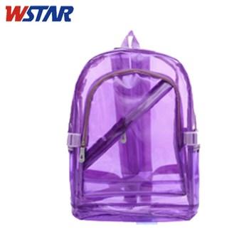 Clear Vinyl Backpacks/clear Plastic Backpacks/cute Clear Backpack ...