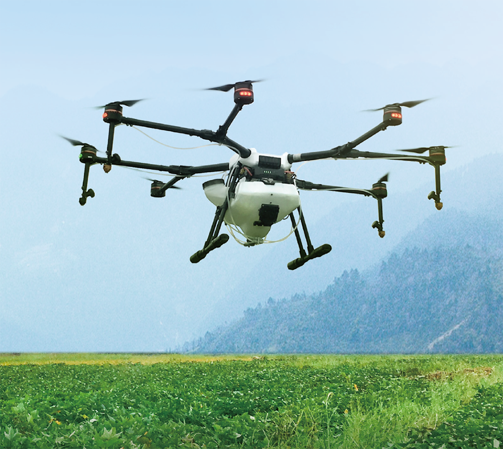 Agras MG-1S Agriculture Spraying Drone - MARCH