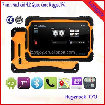shenzhen meilleur android t l phone robuste tablet pc hugerock t70 avec gps wifi bluetooth 3g. Black Bedroom Furniture Sets. Home Design Ideas