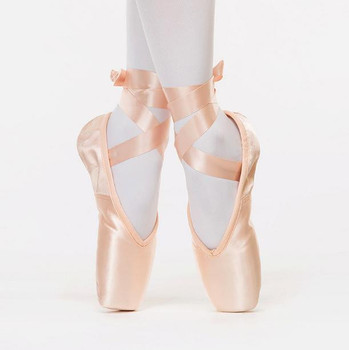 7000054 Ragazze Danza Classica Per Adulti Danza Scarpe di Raso Lucido Rosa  Balletto Pointe Scarpe Per 63d4df53b3f0