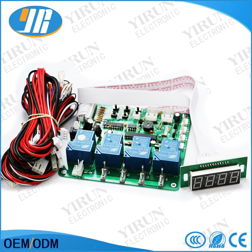 Coin operated USB time board with separate display time control Power Supply
