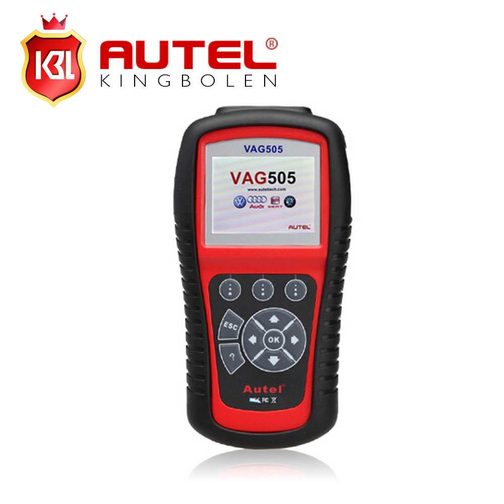2018 Original Autel MaxiService VAG505 Scan Tool Diagnostic OBDII Code Reader VAG 505 Troubleshooter codes free online update