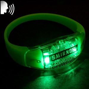Party Supplies Glow In The Dark Bracelet Led Wristband With Led Light For Man Woman Kids