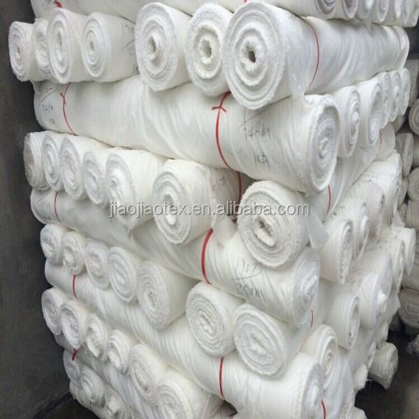 100% polyester woven greige oxford fabric