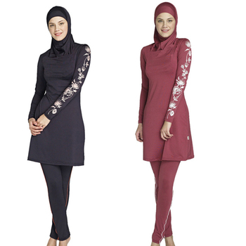muslim wear 2019 Hot Cheap Plus Size Islamic Swimwear Muslim Traditional bathing suit abaya muslim dresses