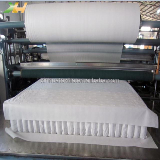 Fábrica de Atacado Pele-friendly Respirável TNT PP Spunbond tecido não Tecido De Polipropileno Não-tecido não tecido Do Colchão