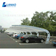 Metal car shelter garage galvanized carport shades