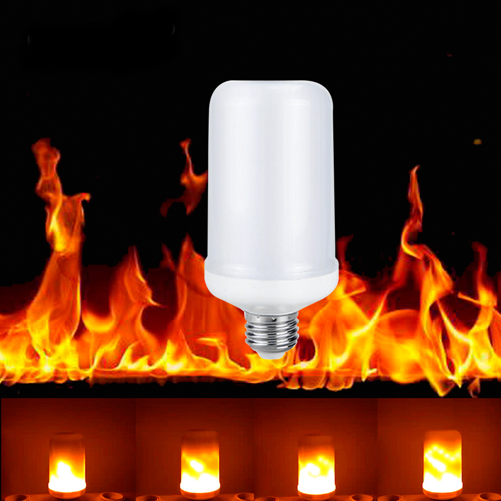 Mes Ampoules Led Scintillent simulation feu scintillement remplacer le gaz lanterne décoration dynamique  110 v 220 v e27 effet de flamme a mené l'ampoule d'éclairage - buy effet