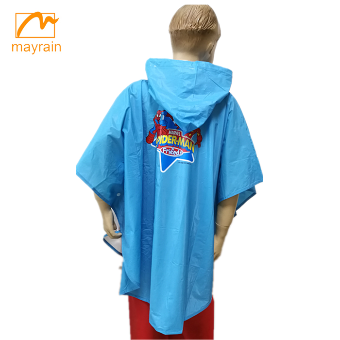 Top Quality Useful Camping Raincoat New Child PVC Poncho