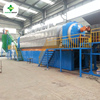 30 tons capacity per day continuous waste tire pyrolysis machine with 45~55% oil output