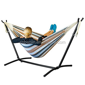Outdoor Portable Hammock Stand Camping Parachute Garden Hammock Tent Chair Hanging Chair Indoor Double Hammock Swing