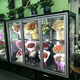 Commercial 4 Glass Door Display Refrigerator for Flower Shop