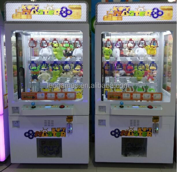toy Claw Machines Coin Operated Gift Game Cheap Factory Coin Operated Claw Crane Arcade Game Toy Craw Machine Key Master