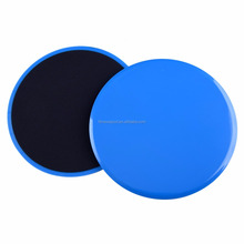 "7"" pair double sided core workout fitness gliding discs"