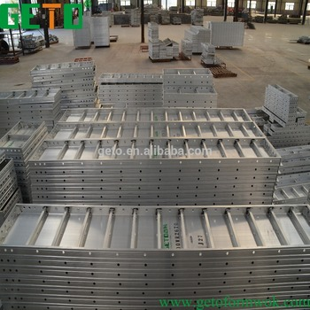 Formwork for concrete shuttering /pouring boards construction