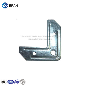 Oem Galvanized Steel Flange Corner For Angle Joint Of Tdf Duct - Buy Steel  Pipe Corners,Tdc Duct Corner,Protective Corners For Furniture Product on