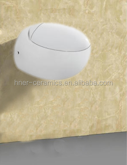 Modern WC wall-hung toilet bowl washdown two piece toilet european wall hung toilet
