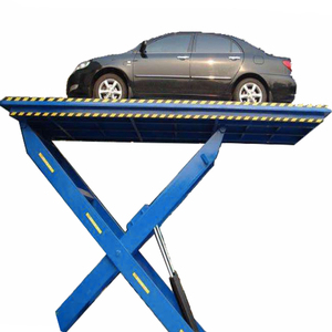 loading dock lift stationary car lift cargo scissor lift