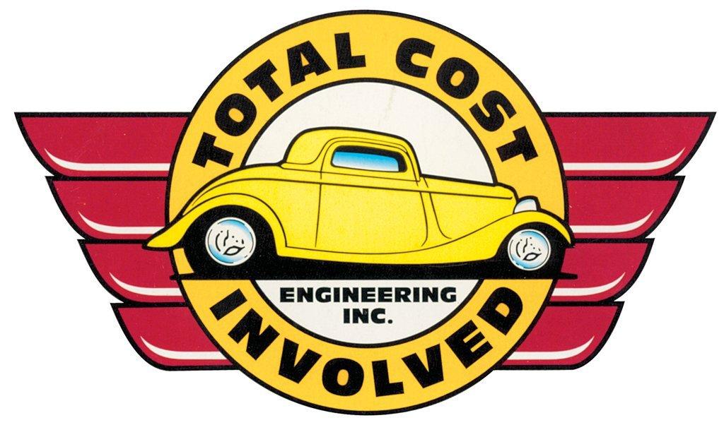 Total Cost Involved Engineering 928-9966-00 66-67 NOVA INNER FENDER