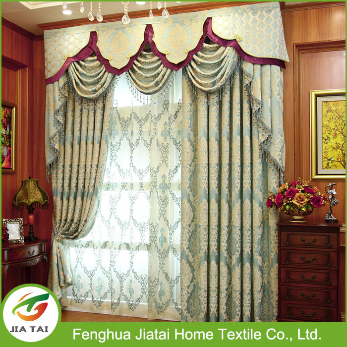 Curtains for living room, curtains and drapes window screening Jacquard window curtains design