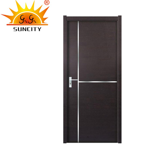 High quality new popular morgan interior door modern mdf doors with 3 years warranty