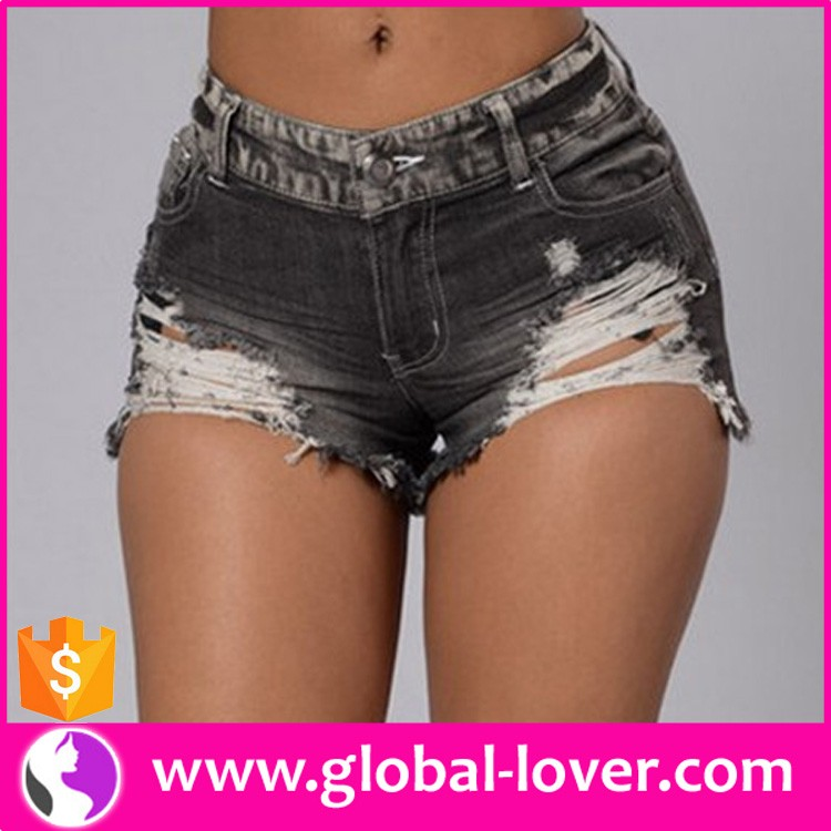 Wholesale ladies hot sexy tight skinny ripped damaged jeans pants jean wear