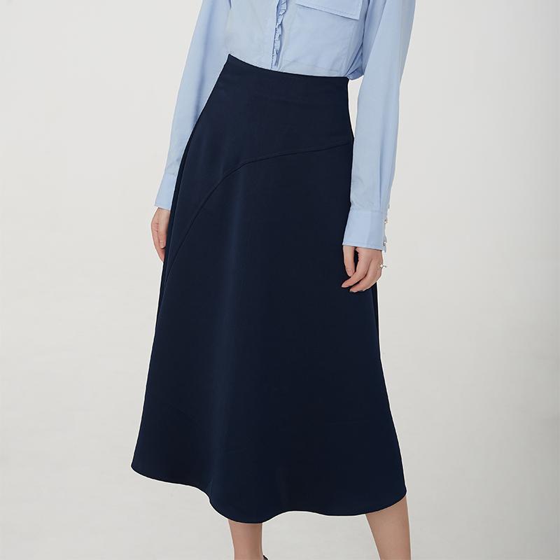 599b5a0d5b79e Grossiste jupe longue bleu marine-Acheter les meilleurs jupe longue ...