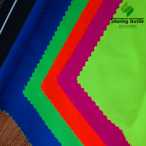 100% Polyester Neon Fabric For Safety Garment