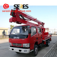 high lifting platform truck,hydraulic aerial cage,catenary installation car