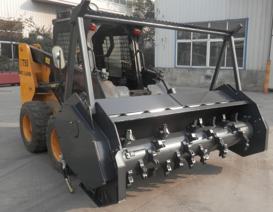 Forestry Mulcher For Sale >> Small Wheel Loader Forestry Mulcher Attachment - Buy ...