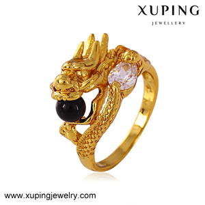 11212 xuping fashion ring gold jewellery in pakistan 24ct gold ring