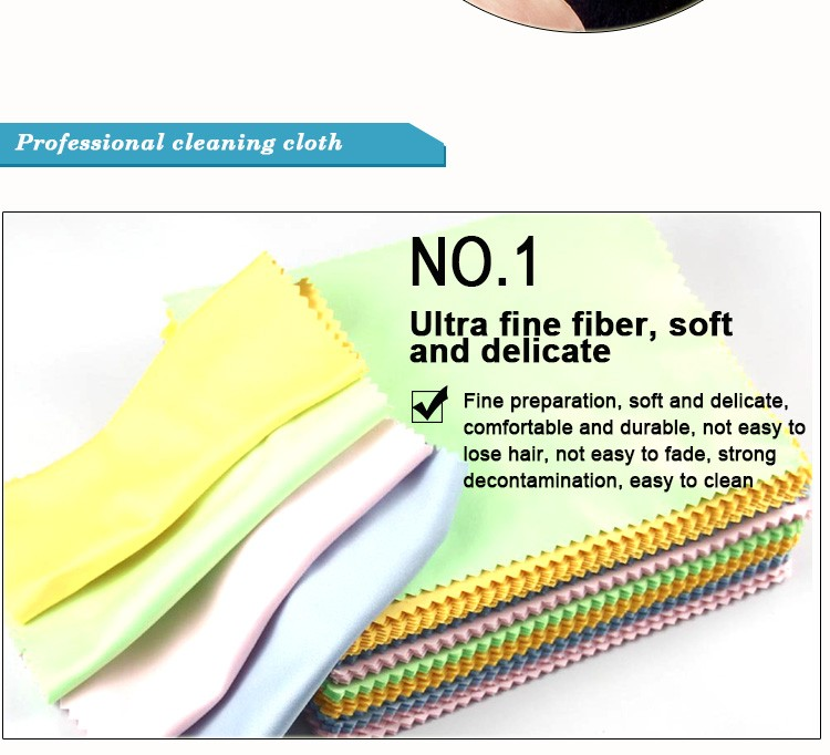Customized anti static Spray Bottled liquid lens cleaning cloth For lens