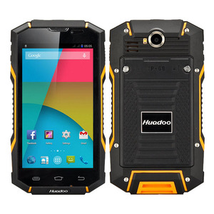 Huadoo V4 Android 4.4 Quad Core 5.0 Inch IPS Screen Dual SIM Card 8.0MP Camera WIFI GPS IP68 Rugged Smartphone