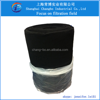 Activated Carbon Filter Roll Media Shanghai