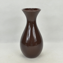 Brown ceramic wholesale flower vases cheap price