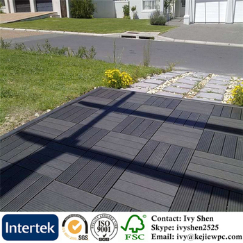 Outdoor Use For Balcony Floor Tile Easy Installation Cheaper Wpc