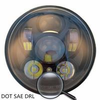 Harly davidson 2016 new 5.75 motorcycle headlight , 5 3/4