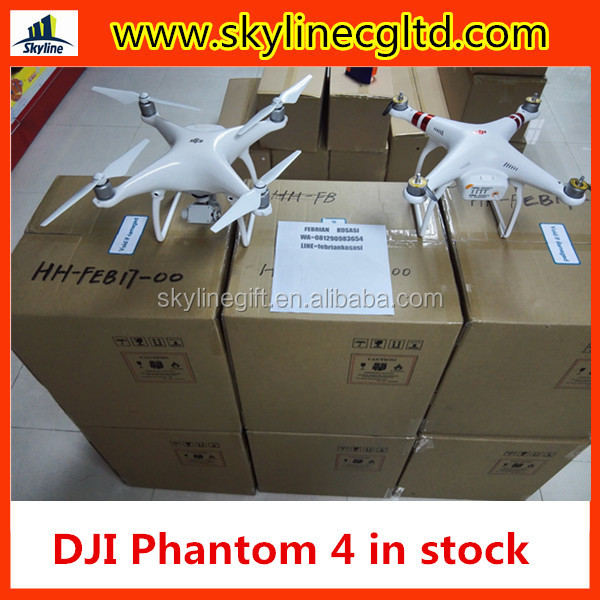 In stock DJI Phantom 4 + Two Extra Batteries + Car Charger( Battery Charging Hub)HOT SALE