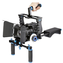 most stable china gimbal dslr cage shoulder rig follow focus matte box phone camera stabilizer