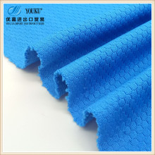 100% polyester football pattern design mesh knit polyester sportswear fabric