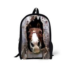 Новая детская школьная сумка Crazy Horse для девочек-подростков, Детский рюкзак для начальной школы, Tumblr, сумка для ноутбука, Mochila, Детские ранцы(Китай)